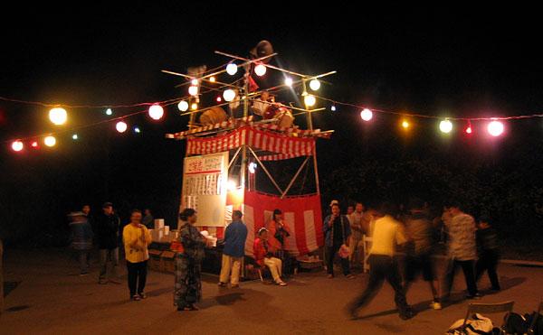 歌志内市神威地区盆踊り2004
